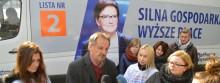Ewavan zawitał do Suwałk. Platforma Obywatelska rusza w teren [zdjęcia]