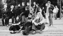Rzuć okiem na największą imprezę w Suwałkach. Blues Festival na czarno-biało