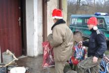 Świąteczne paczki od pograniczników