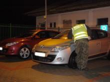 Dwa kradzione samochody