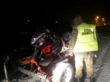 Skradziony motor zatoczył koło