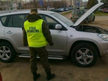 Skradziona we Francji, zatrzymana w Szypliszkach