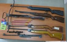 Nielegalny arsenał pod Augustowem