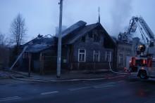 Mężczyzna spłonął w Suwałkach