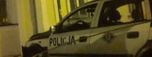 Rozpędzony radiowóz uderzył w dom