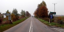 PoÅ›lizg na drodze 653