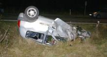 Cztery osoby ranne, trzy rozbite auta