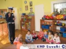 Policjanci u przedszkolaków