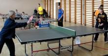 Niepłnosprawni pingpongiści grali w Sejnach