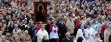 Po 30 latach obraz Matki Boskiej Częstochowskiej w Suwałkach