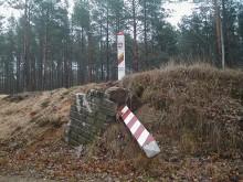 Wytyczno granicę z Litwą