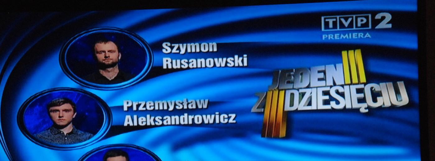 Dwaj suwalczanie w finale odcinka Jeden z Dziesięciu
