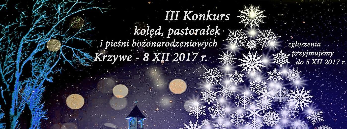 Konkurs Kolęd, Pastorałek i Pieśni Bożonarodzeniowych w Krzywem