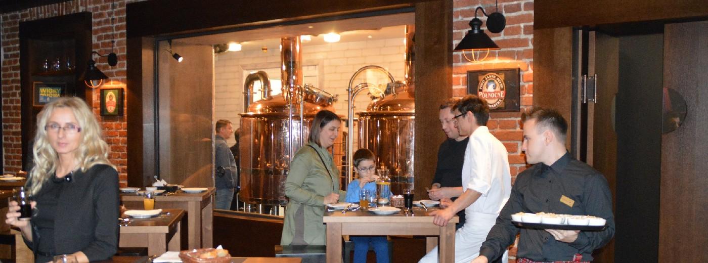 Browar Północny już serwuje piwo. Nazwy tradycyjne, ale świeży smak [zdjęcia]