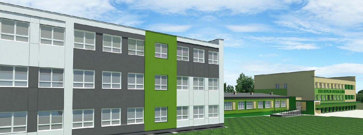 Szkoła Podstawowa nr 4 będzie dwa razy większa. Nowy budynek za dwa lata i 11 milionów zł [zdjęcia]