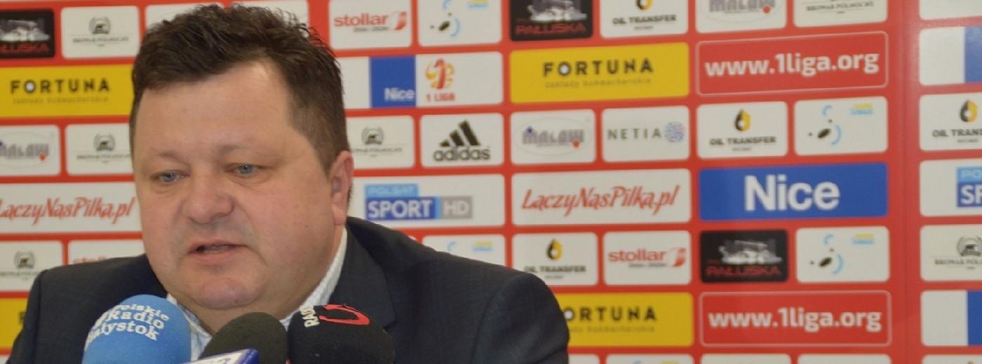 Wigry Suwałki. Dariusz Mazur zrezygnował z funkcji prezesa, będzie sponsorem i kibicem klubu [wideo]