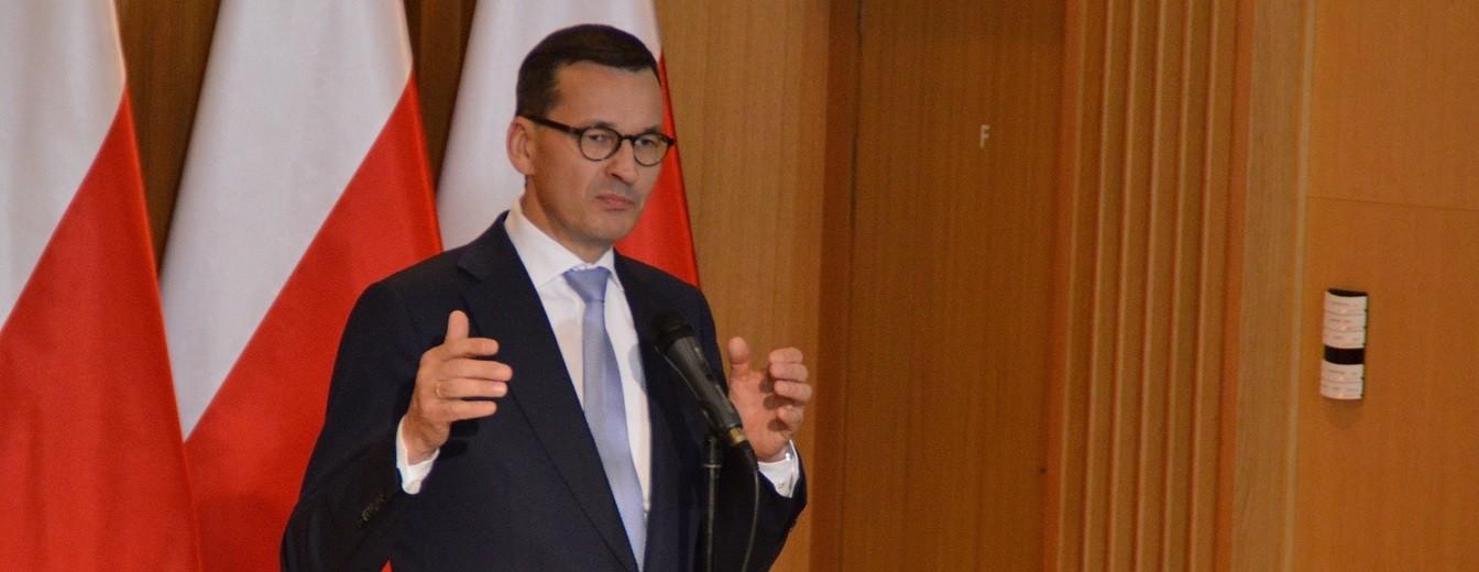 Mateusz Morawiecki w Suwałkach: Polska jest jak rozbity dzban [zdjęcia]