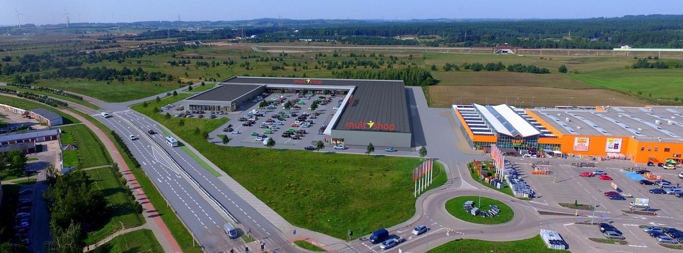 Park handlowy Multishop dwa razy większy. Ruszyła budowa, latem na zakupy [foto]