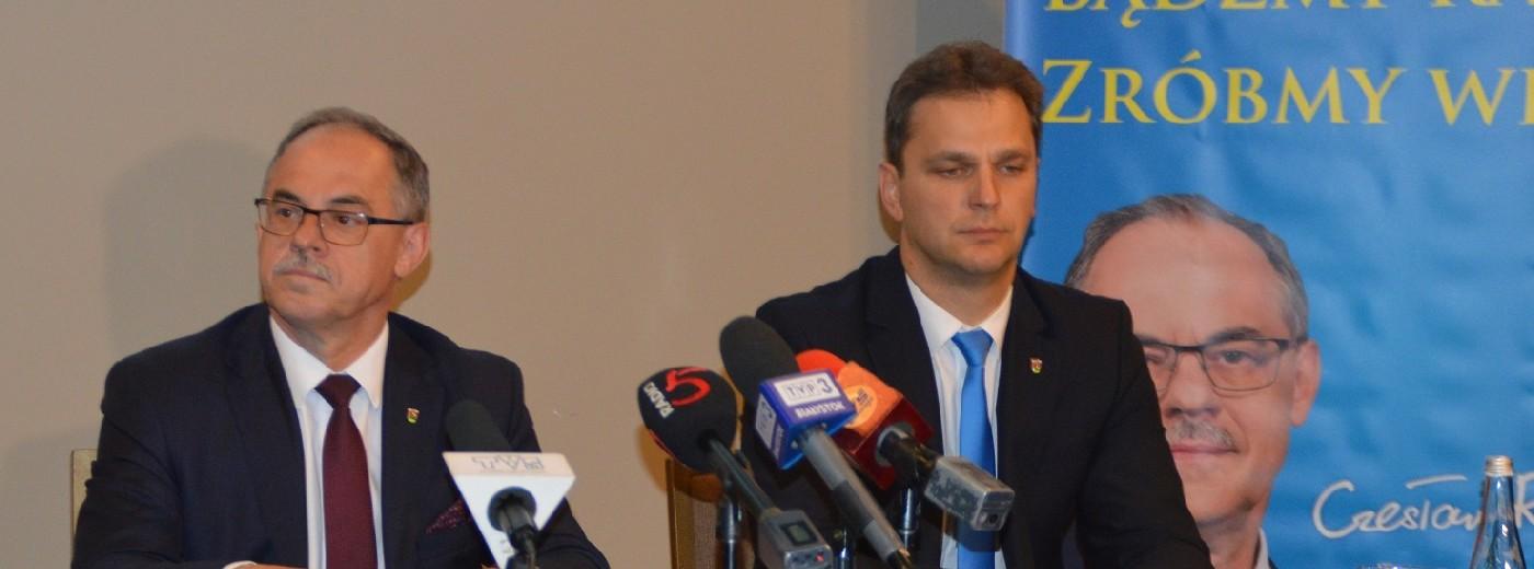 Czesław Renkiewicz: Startuję, by nikt nie zepsuł tego, co wspólnie zrobiliśmy i zaczęliśmy robić