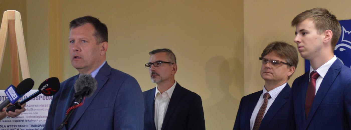 Grzegorz Mackiewicz, kandydat PiS na prezydenta Suwałk: Obniżę podatek od nieruchomości
