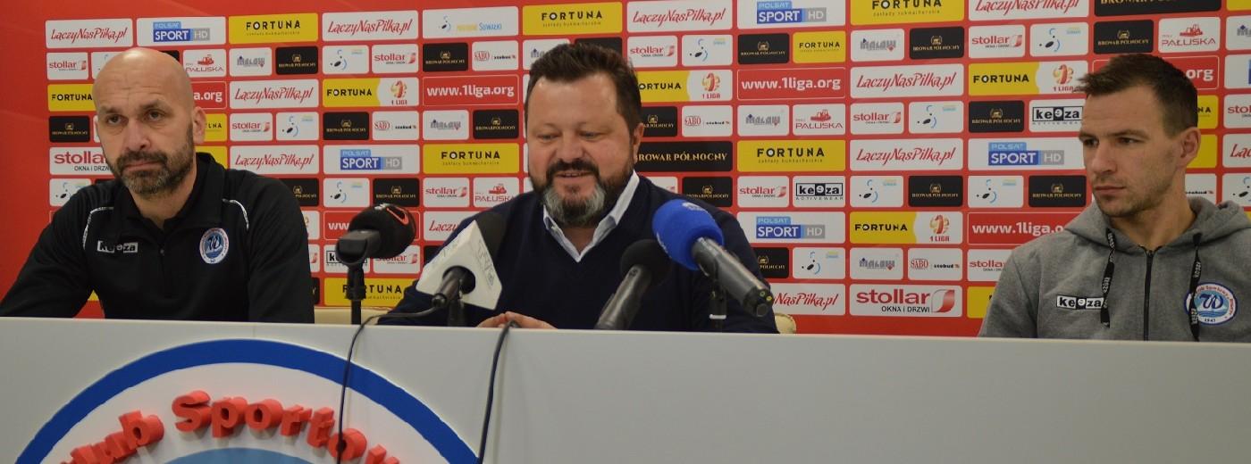 Wigry Suwałki przed obroną Fortuna 1 Ligi i z planami, co dalej [wideo]
