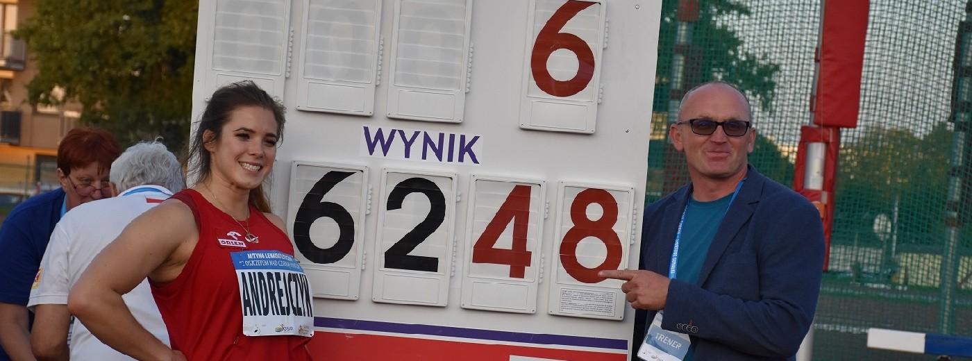 Pierwszy taki mityng w Suwałkach. Maria Andrejczyk i Marcin Krukowski z rekordami stadionu [zdjęcia]
