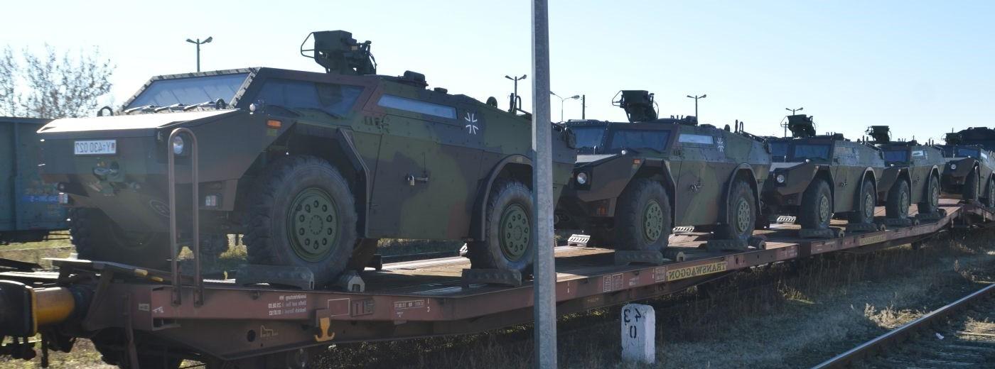 Jesteśmy w NATO. Niemieckie wojsko znowu w Suwałkach [zdjęcia]