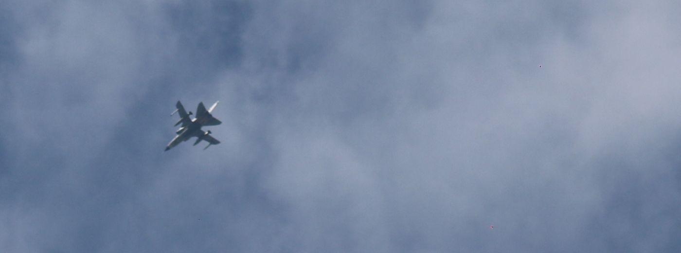 Sokoły przecięły suwalskie niebo. Belgijskie F-16 nad miastem [zdjęcia]